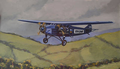 Airliners Painting - Southern Cloud 1931 by Murray McLeod