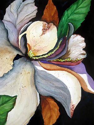 Flower Painting - White Glory II by Lil Taylor