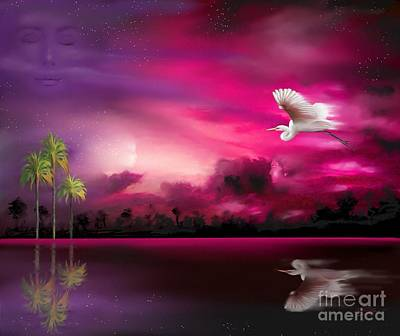 Bird Painting - Southern Magic by Susi Galloway