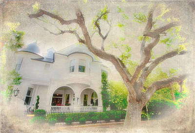 Charleston Houses Painting - Southern Memories by Dan Carmichael