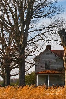 Summerfield Photograph - Southern Porch by Geri Glavis