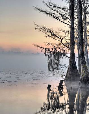 Cypress Swamp Photograph - Southern Sunrise  by JC Findley
