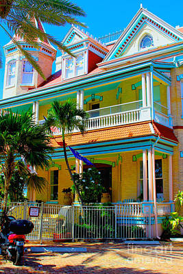 Old House Photograph - Southernmost House by Carey Chen