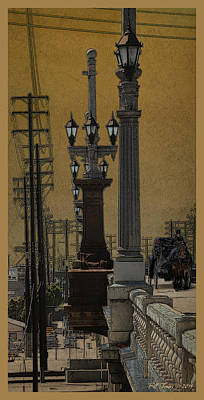 Southside Bridge Print by Bill Jonas