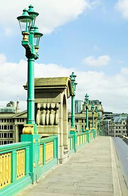 Southwark Bridge Print by Tom Gowanlock
