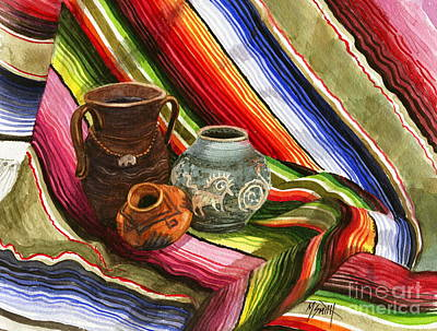 Southwest Still Life Print by Marilyn Smith
