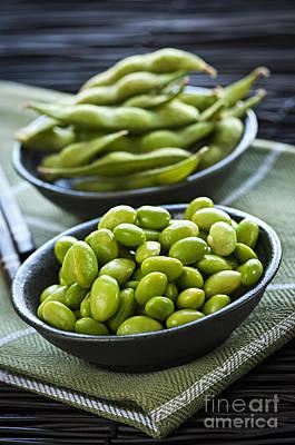 Diet.eat Photograph - Soy Beans  by Elena Elisseeva
