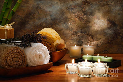 Pampering Photograph - Spa Treatment by Olivier Le Queinec