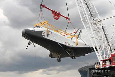 Space Shuttle Enterprise Print by Steven Spak