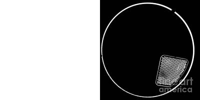 Minimal Photograph - Spacecircle Whitespace by Pittsburgh Photo Company