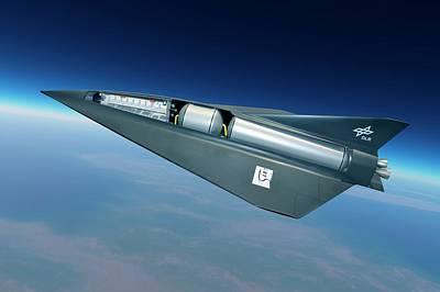 Aircraft Artwork Photograph - Spaceliner Transport by Detlev Van Ravenswaay
