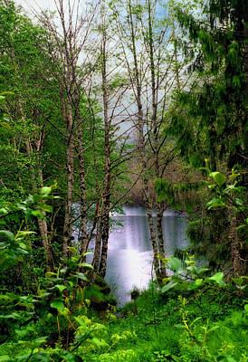 Wilderness Digital Art - Spada Lake by Helen Roach