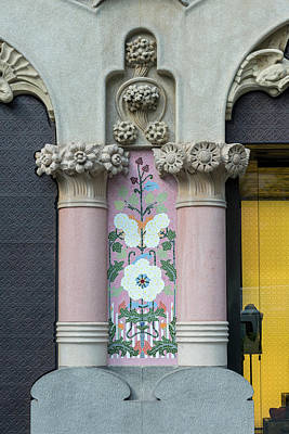 Spain, Barcelona, Casa Amatller (large Print by Jim Engelbrecht