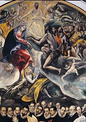 Spain, Castiglia Mancia, Toledo, Santo Print by Everett