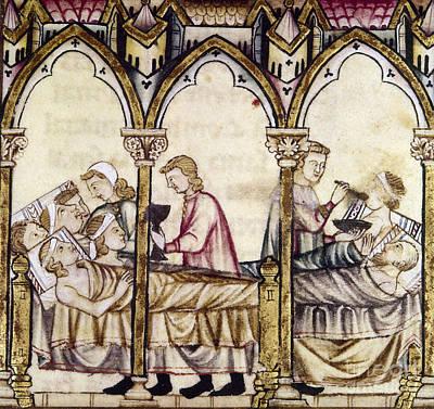 Spain: Medieval Hospital Print by Granger
