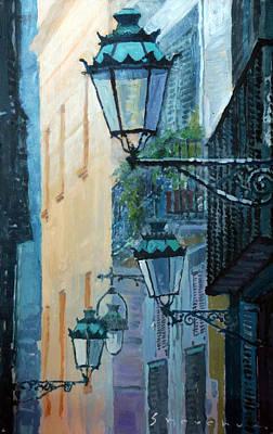 Barcelona Painting - Spain Series 07 Barcelona  by Yuriy Shevchuk