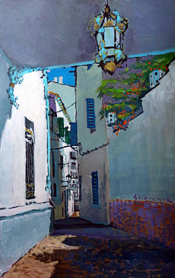 Costa Painting - Spain Series 09 Cadaques by Yuriy Shevchuk