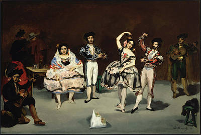 Ballet Painting - Spanish Ballet by Edouard Manet