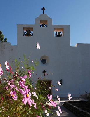 St. Francis De Paula Catholic Church Tularosa New Mexico Photograph - Spanish Mission by Susan Rovira