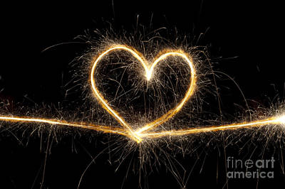 Spark Of Love Print by Tim Gainey