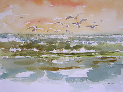 Painting - Sparkling Surf by Julianne Felton