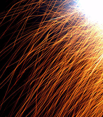 Sparks Print by JS Rose Photography