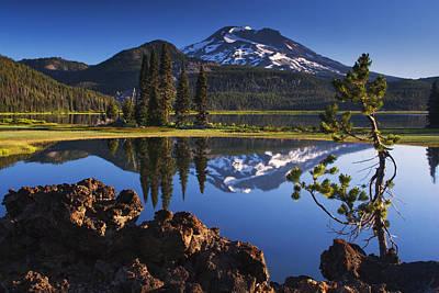Fresh Air Photograph - Sparks Lake Sunrise by Mark Kiver