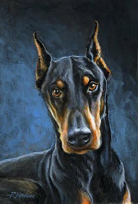Portrait Painting - Spartacus by Richard De Wolfe