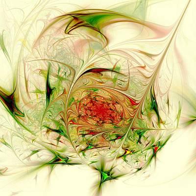 Swirl Digital Art - Special Place by Anastasiya Malakhova