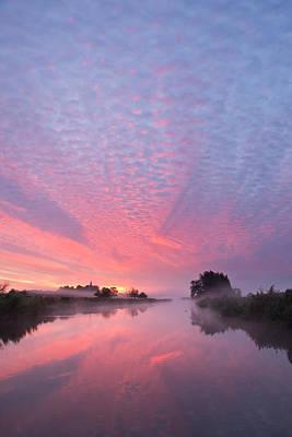 Spectacular Sunrise Print by Maxim Van Asseldonk