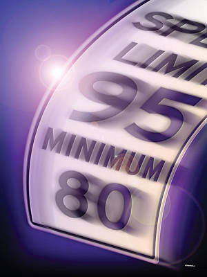 Speed Limit 95 Original by James Kramer