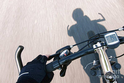 Handlebar Photograph - Speed by Olivier Le Queinec
