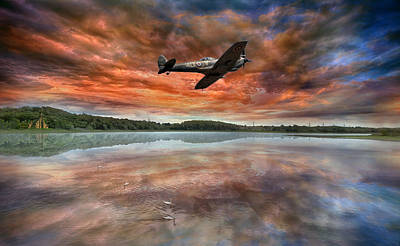 Spitfire Photograph - Speed Testing by Jason Green