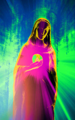 Madonna Digital Art - Speranza IIi by Aurelio Zucco