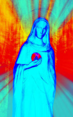 Mother Mary Digital Art - Speranza V by Aurelio Zucco