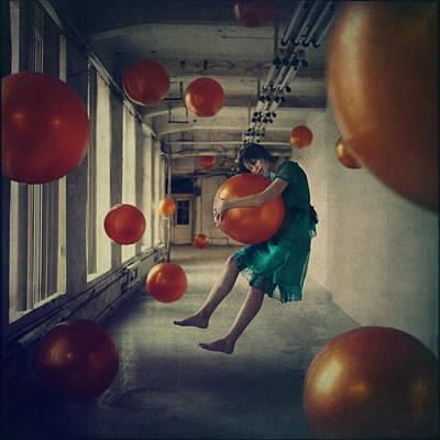Levitation Photograph - Spheres by Anka Zhuravleva