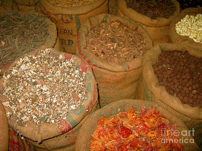 Spices From The East Print by Mini Arora
