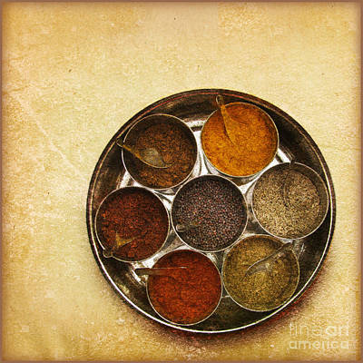 Spices Of India  Print by Prajakta P