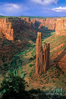 Chelly Photograph - Spider Rock by Inge Johnsson