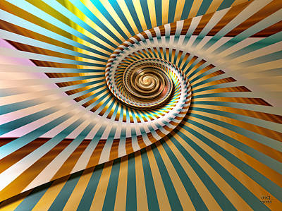Spin Print by Manny Lorenzo