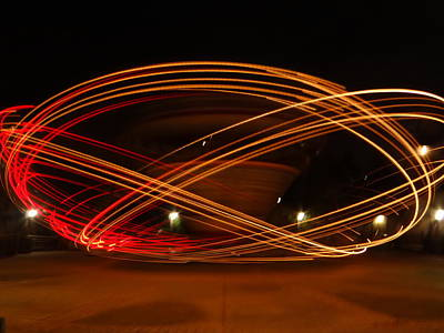 Rollercoaster Photograph - Spin Me Round by Jamie Johnson