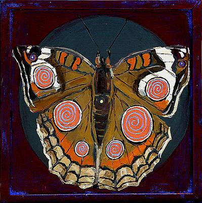 Spiral Butterfly I Original by Shira Chai