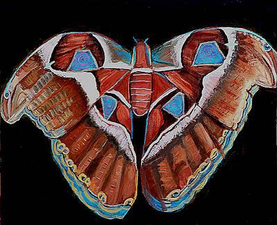 Spiral Butterfly IIi Original by Shira Chai