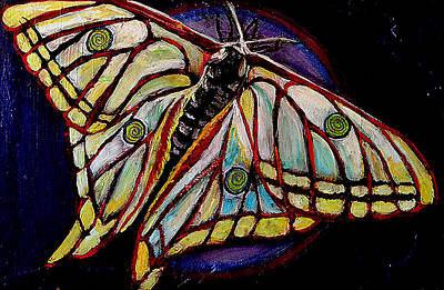 Spiral Butterfly Ix Original by Shira Chai