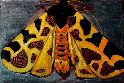 Spiral Butterfly X Original by Shira Chai