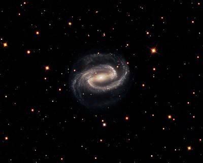 Spiral Photograph - Spiral Galaxy Ngc 1300 by Damian Peach