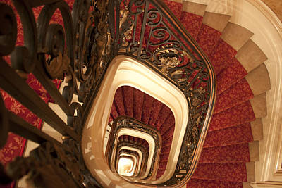 Spiral Stairs Print by Ivete Basso Photography