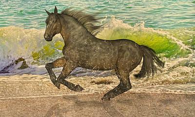 Spirit Imagined Print by Betsy C Knapp