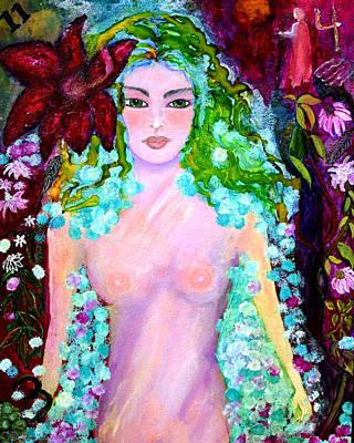 Spirit Garden Print by Patricia Motley