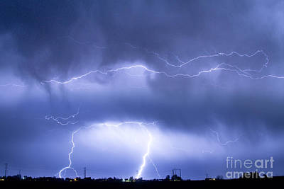 Thunder Photograph - Spirit In The Sky by James BO  Insogna
